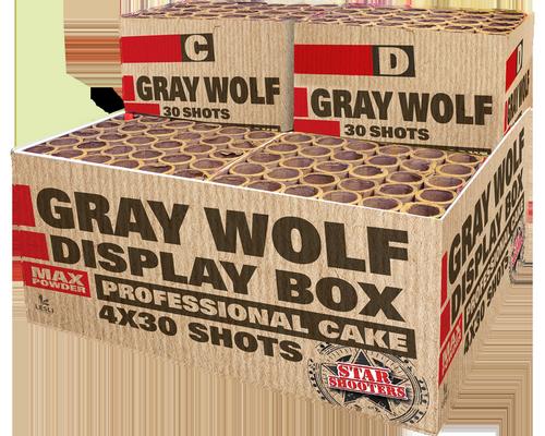 Starshooters Gray Wolf profibox