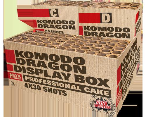 Starshooters Komodo Dragon profibox