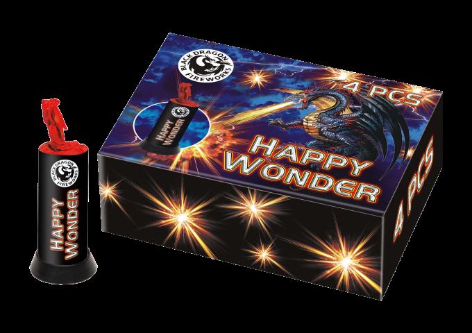 Happy Wonder (4 stuks)