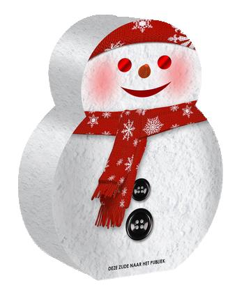 Snow Man Fontein*