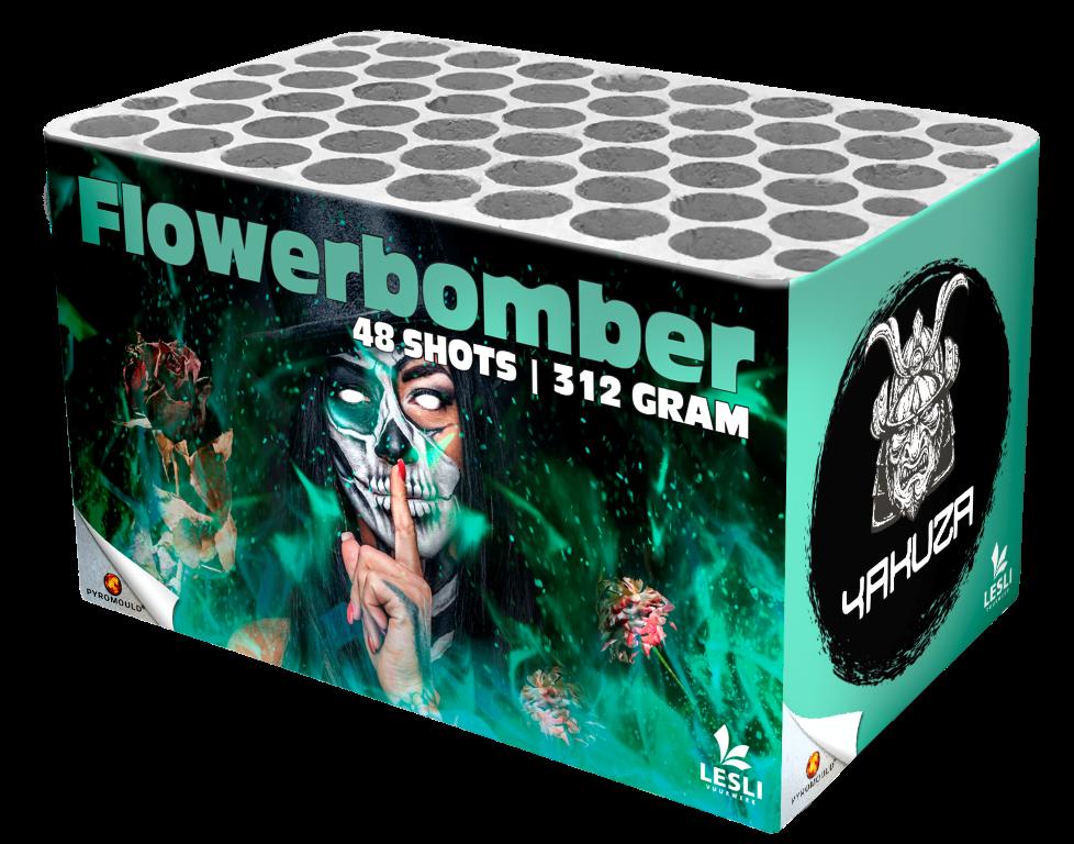 Flowerbomber (=Rock 'n Roller (zelfde cake met ander wikkel)