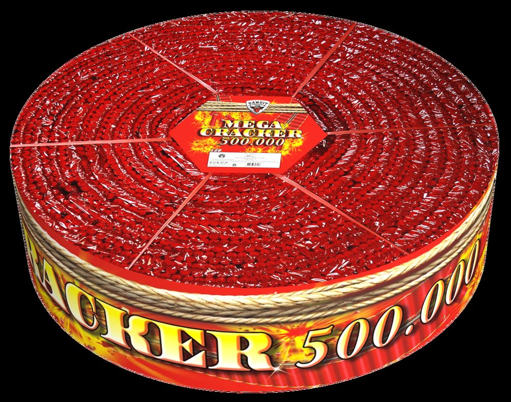 Mega Cracker 500.000**