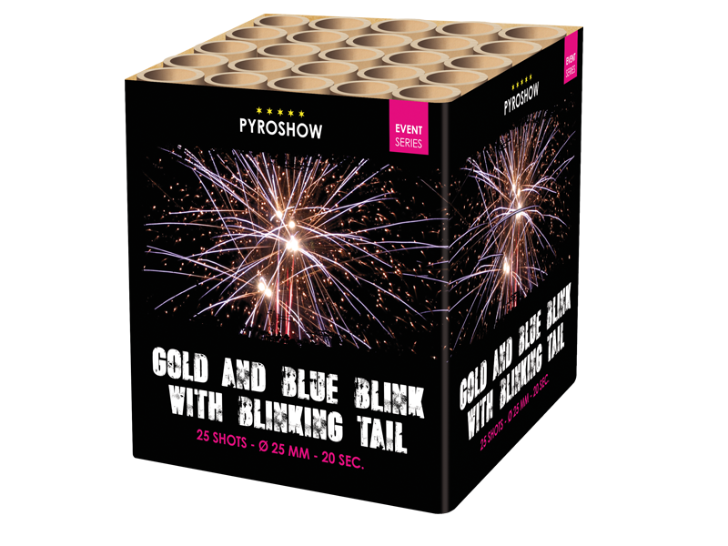 Gold and Blue Blink