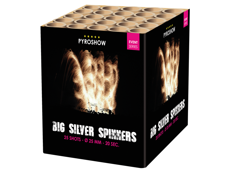Big Silver Spinner
