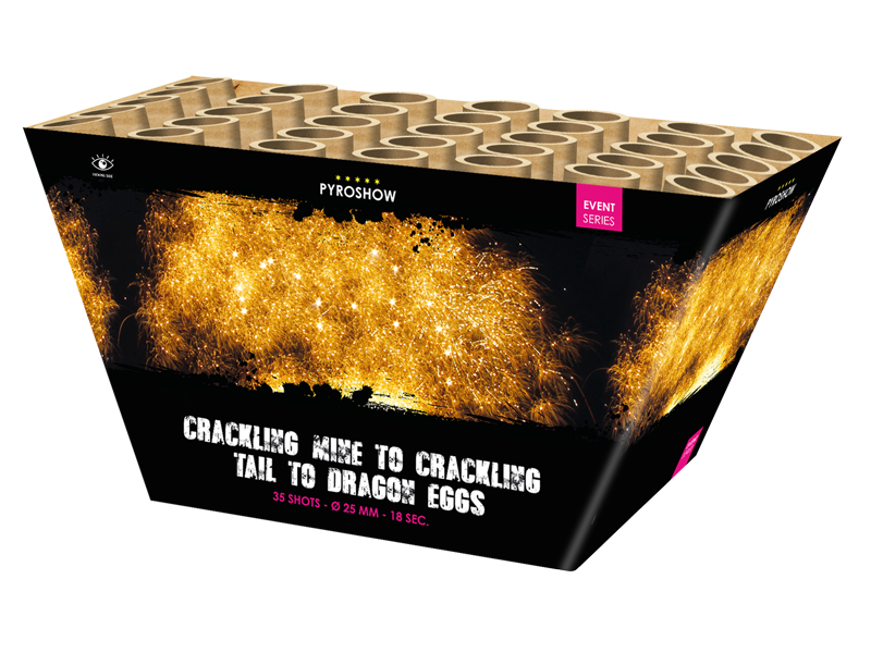 Crackling Mine to Crackling Tails to Dragon Eggs