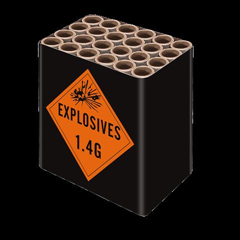 Explosive cake