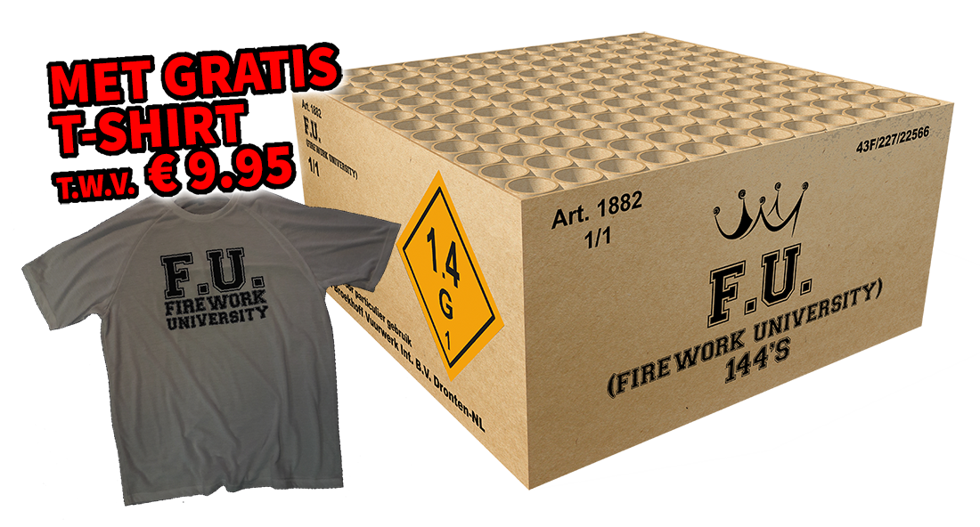 FU (Firework University) 144sh.